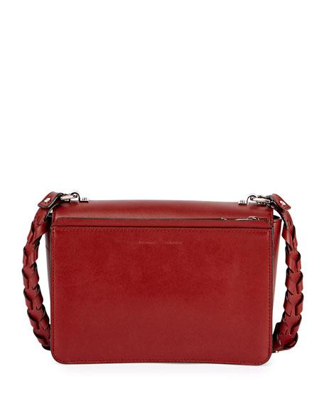 Hava Whipstitch Shoulder Bag, Maroon