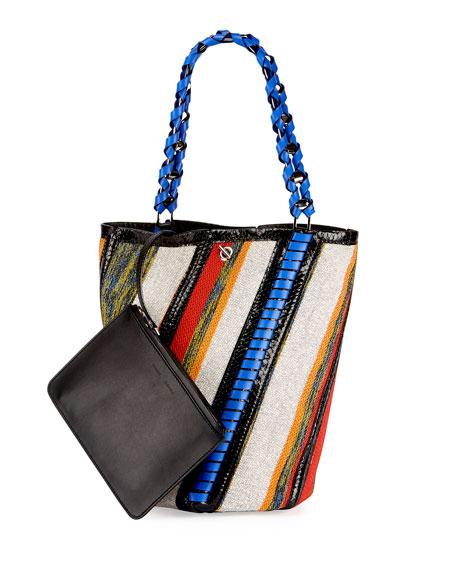 Proenza Schouler Hex Medium Bucket Bag, Multi