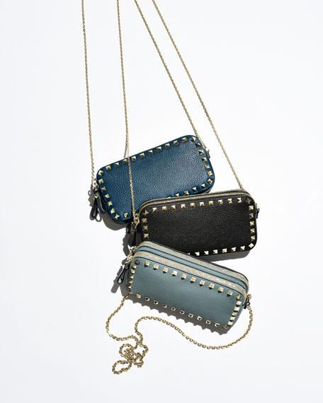 Rockstud Camera Shoulder Bag