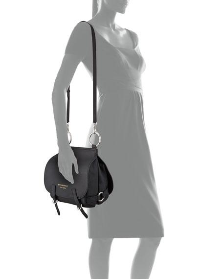 Bridle Medium Satchel Bag, Black