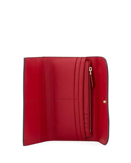 Kenton Soft Grain Leather Wallet, Red