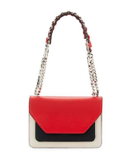 Elena Ghisellini Eclipse Small Flap Crossbody Bag