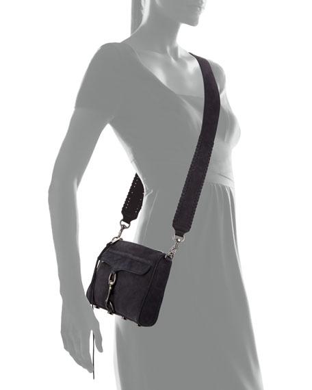 Mini MAC Nubuck Leather Crossbody Bag