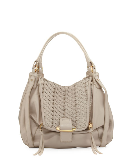 Kooba Jonnie Mini Woven Shopper Bag