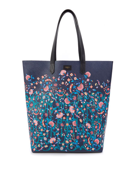 Liberty London Garden Gates Floral Tote Bag
