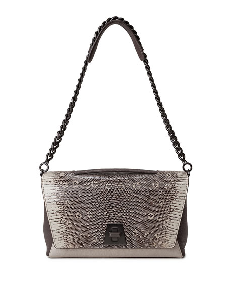 Akris Anouk Lizard Day Bag