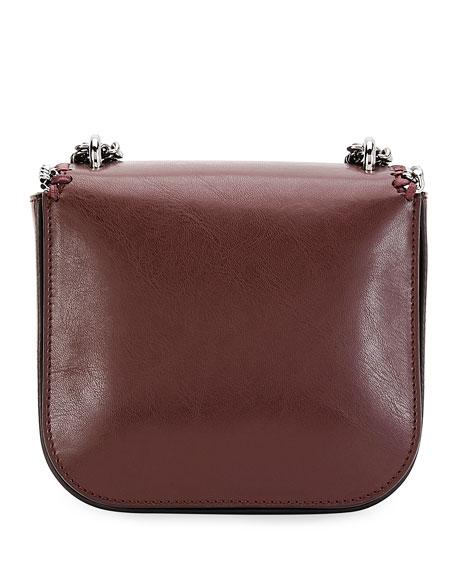 Falabella Eco Faux-Leather Shoulder Bag, Red/Black
