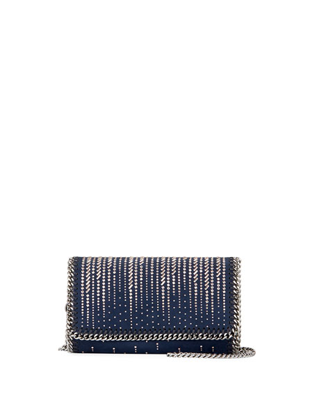 Stella McCartney Falabella Stud Embellished Crossbody Bag