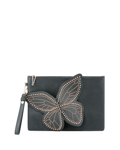 Sophia Pochette Stud Butterfly Flossy Webster p4pva