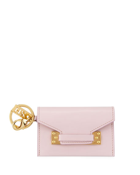 Sophie Hulme Milner Micro Envelope Clutch Bag, Light