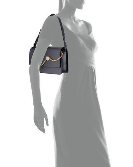 Medium Cocktail Stirrer Shoulder Bag, Navy