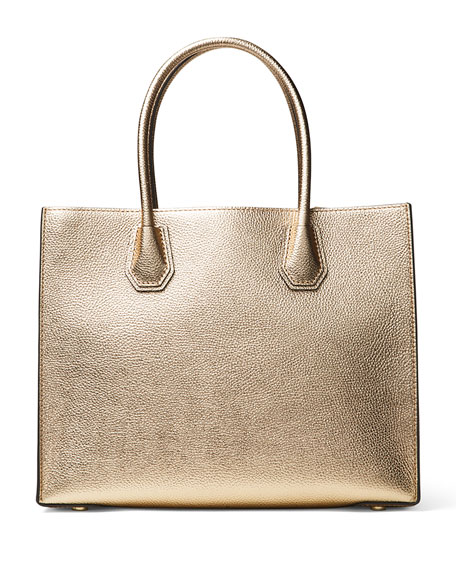 Mercer Large Convertible Tote Bag, Pale Gold