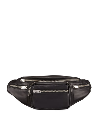 Attica Washed Leather Belt Bag