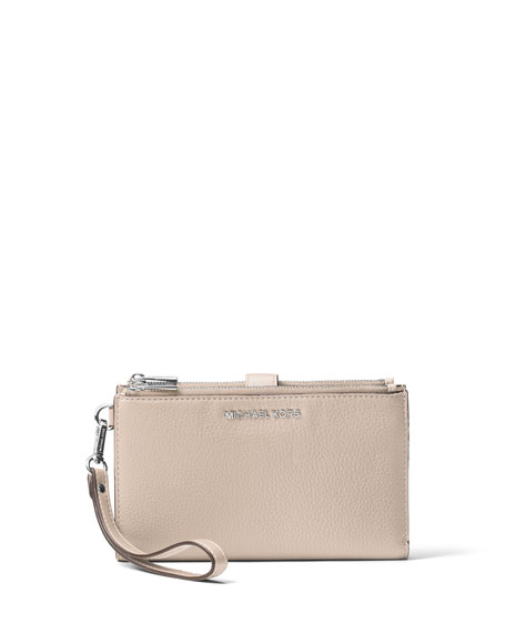 MICHAEL Michael Kors Adele Double-Zip iPhone® 7+ Wristlet