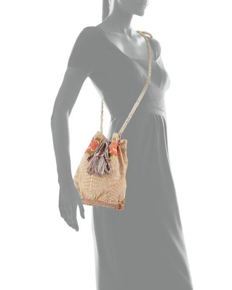 Jojo Linen Bucket Bag