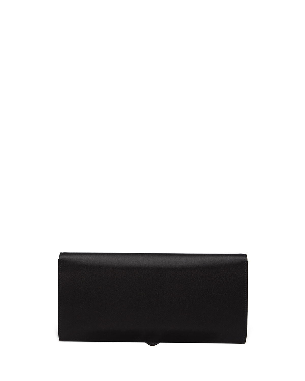 e953c06f56fc Gucci Dionysus Small Satin Clutch Bag, Black   Neiman Marcus