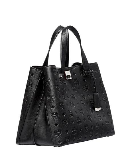 Klara Monogrammed Satchel Bag