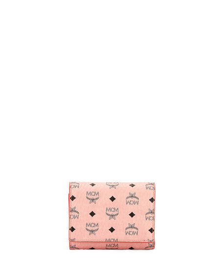 MCM Visetos Small Flap Wallet