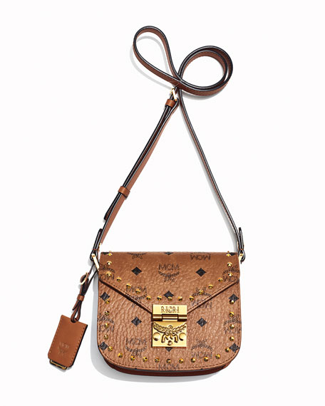 Patricia Studded Outline Shoulder Bag