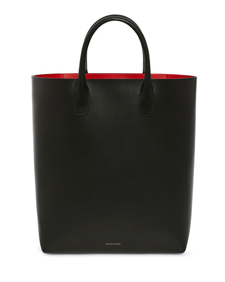 Mansur Gavriel North-South Vegetable-Tanned Leather Tote Bag