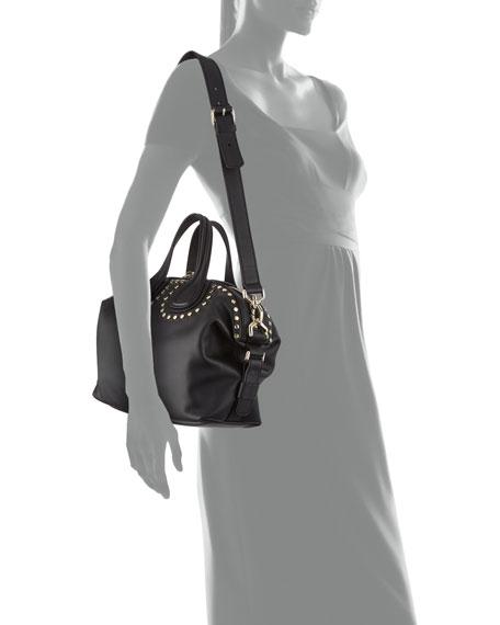 Nightingale Small Studded Satchel Bag