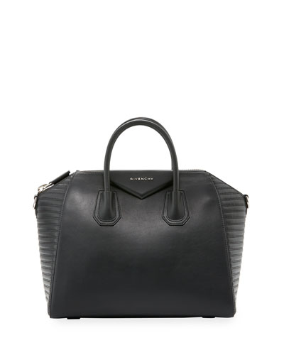 Antigona Medium Studded Satchel Bag