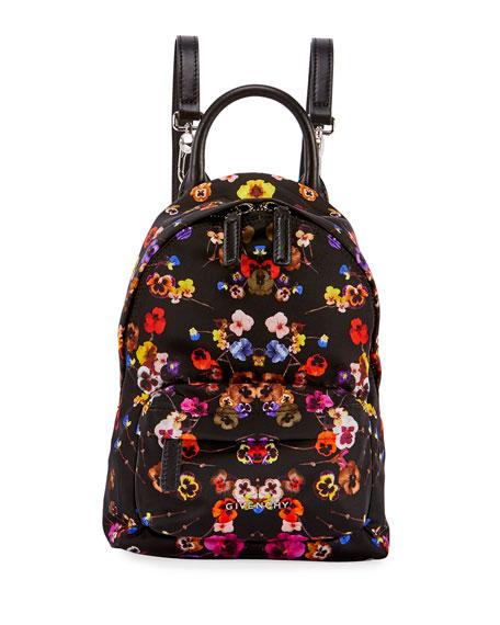 Nano Pansies Floral-Print Backpack, Multi