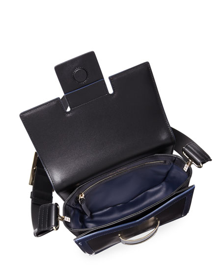Viv Mini Leather Shoulder Bag
