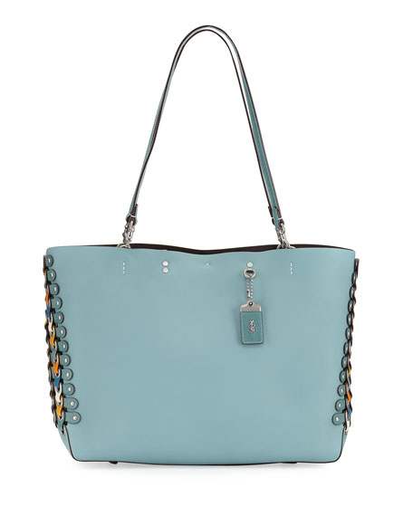 Rogue Colorblock Linked Tote Bag, Blue