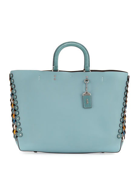 Coach 1941 Rogue Colorblock Linked Tote Bag, Blue
