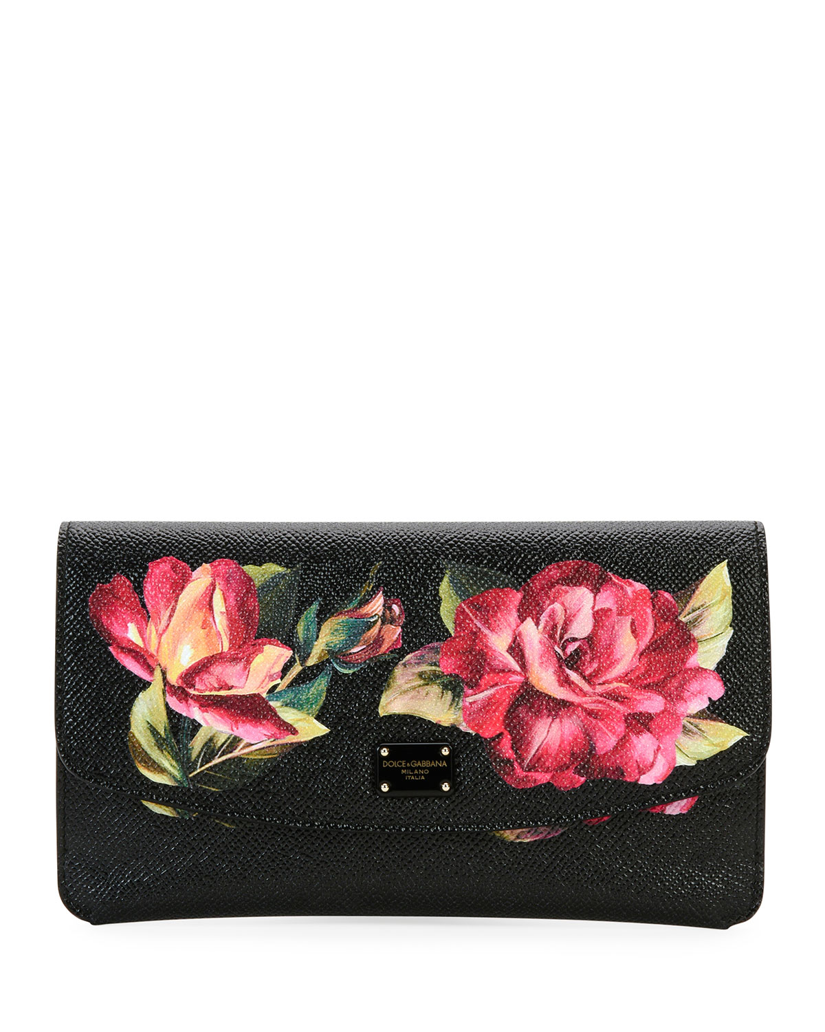 printed peony wallet Dolce & Gabbana