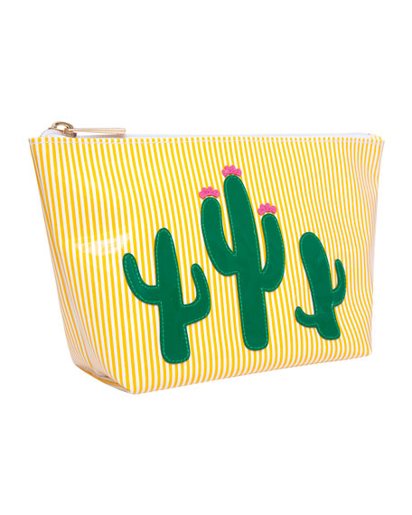 Avery Medium Cosmetics Bag, Cacti