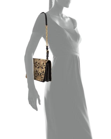 Sadie Brocade Chain Shoulder Bag