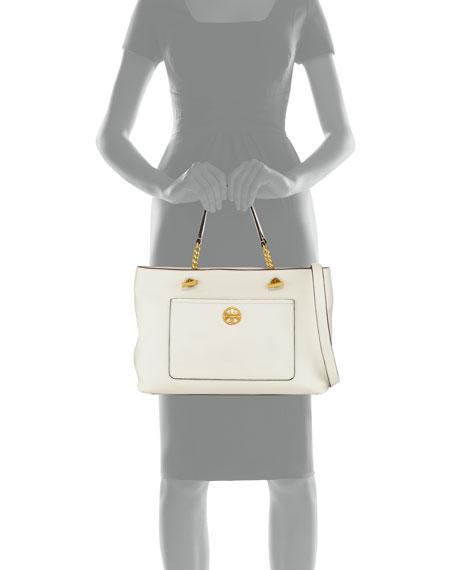 Chelsea Leather Satchel Bag