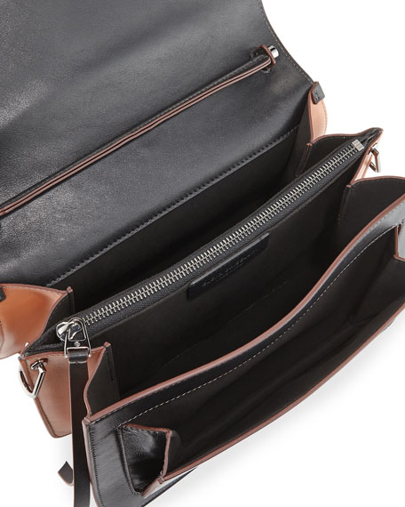Eclipse Medium Colorblock Shoulder Bag
