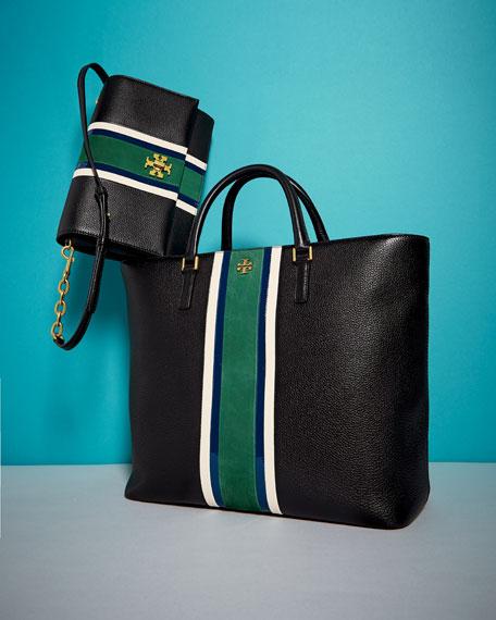 Georgia Striped Shoulder Bag