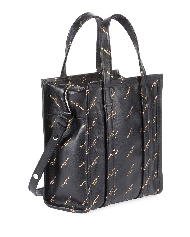 Shopping Tote XXS AJ - Black Balenciaga KeWTtxq
