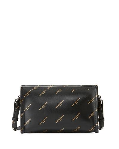 Bazar Pochette Logo-Print Crossbody Bag