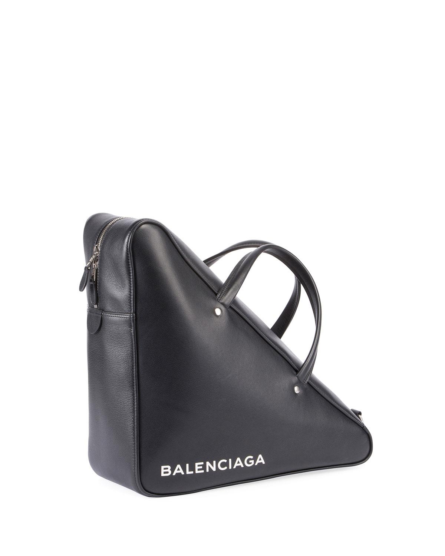 Triangle leather clutch Balenciaga BoOOo