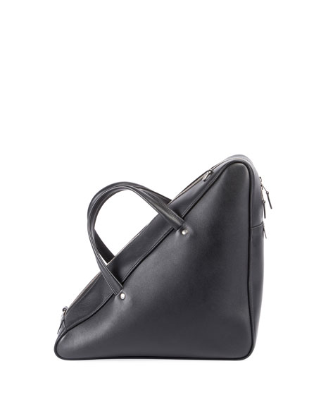 Triangle Duffel Medium AJ Bag, Black