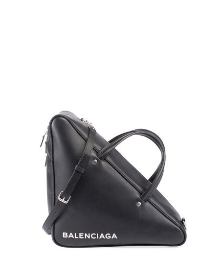 Balenciaga Triangle Duffel Medium AJ Bag, Black