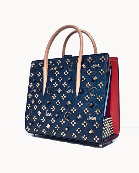 Paloma Empire Spikes Medium Mixed-Stud Tote Bag