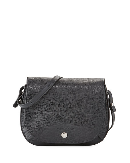 Longchamp Le Foulonne Small Leather Cross Body Bag