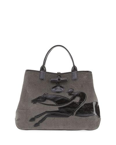 Roseau Double-Jeu Large Tote Bag
