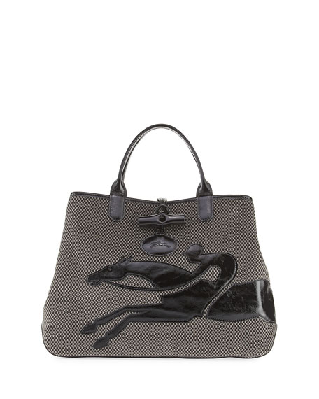 Longchamp Roseau Double-Jeu Large Tote Bag