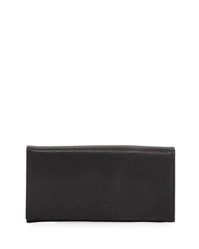 Le Foulonne Pebbled Leather Wallet