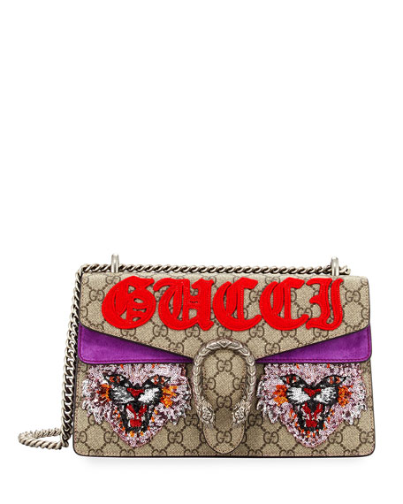 Dionysus Small Angry Cat Shoulder Bag