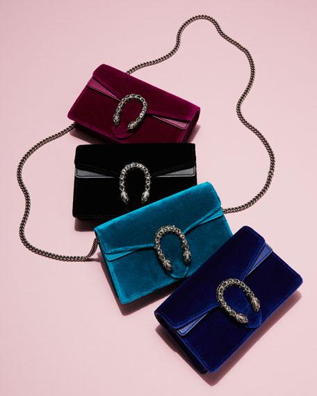 Dionysus Velvet Super Mini Bag