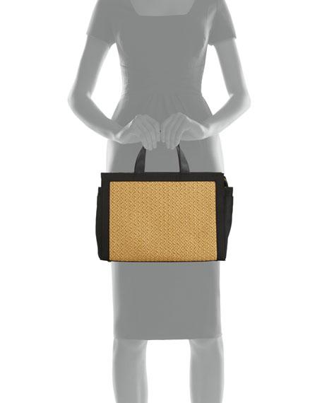 Bancroft Large Straw Tote Bag