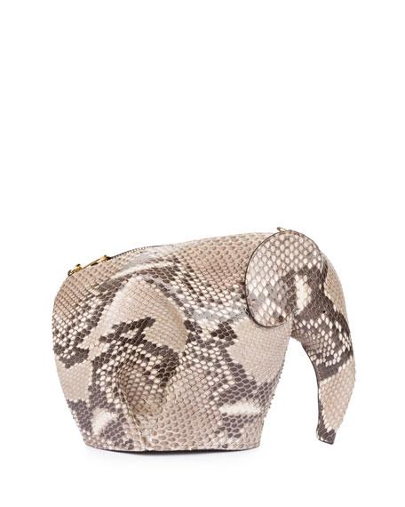 Python Elephant Mini Bag